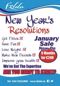 Felda New Years Resolution